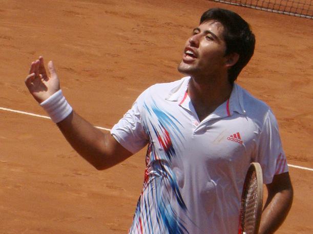 Sergio Galdos logró el punto de clasificación a la siguiente fase  la Copa Davis.