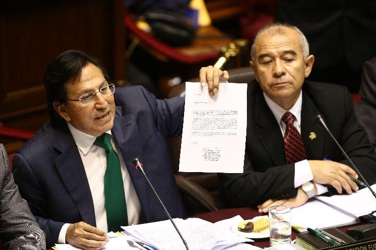 FOTO: El Peruano / Alejandro Toledo y Eliane Karp investigados por lavado de activos