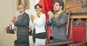 """(Foto RPP) Alcaldesa Susana Villarán admite: """"Estoy pensando en la reelección"""""""