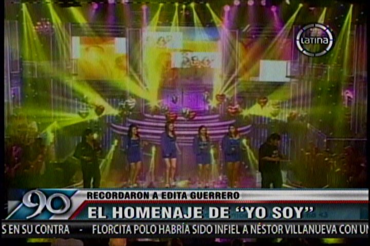 Yo Soy: Rinden homenaje a Edita Guerrero de Corazón Serrano