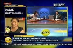 Mineros ilegales reabren por 3 horas Panamericana y el gobierno no dialogará