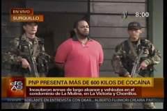 Narcos capturados en La Molina enviaron droga cuatro veces al extranjero