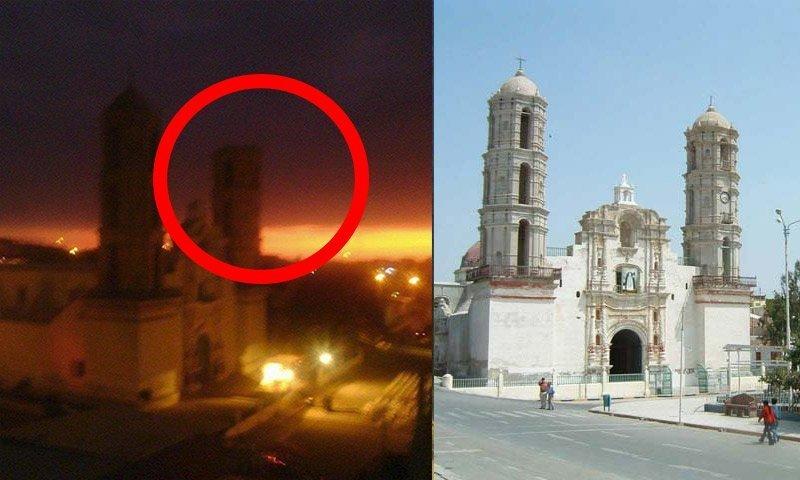 Sismo en Piura: Cae torre de iglesia en Sechura y hay mas daños materiales