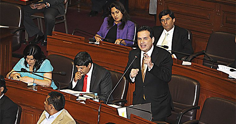 """Foto El Peruano / Congresista Chehade: """"René Cornejo debe ejercer liderazgo en la PCM"""""""