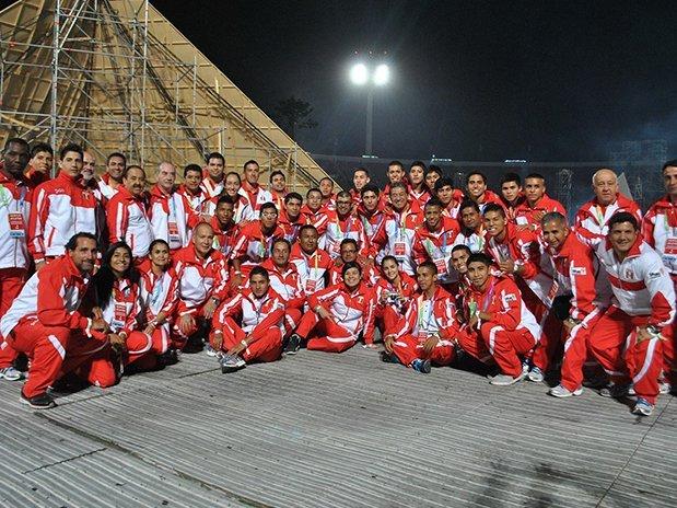 La delegación nacional terminó séptima en ODESUR 2014.