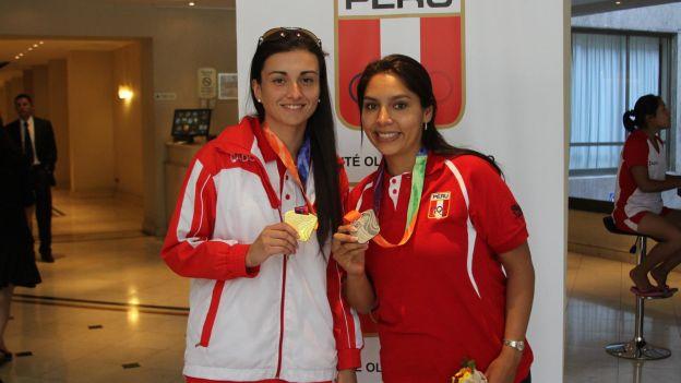Perú obtuvo medallas de oro y plata en tiro a través de Brianda Rivera y Miriam Quintanilla, respectivamente.
