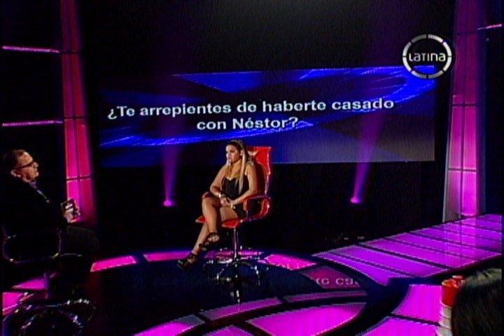 EVDLV: Florcita Polo fue infiel a Nestor Villanueva y se arrepiente de matrimonio
