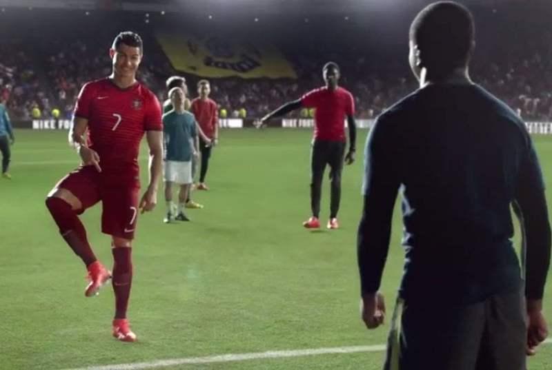 [VIDEO Nike] Ronaldo, Neymar, Iniesta y otras estrellas en impresionante comercial de Nike