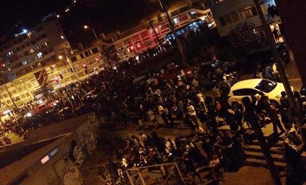 Seis muertos por terremoto de 8.2 grados en Chile