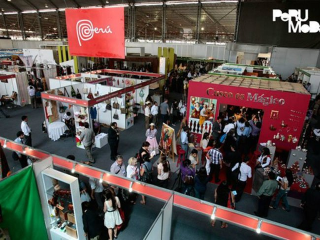 La participación nacional en Perú Moda 2014  y Perú Gift Show 2014 habría dejado resultados positivos.