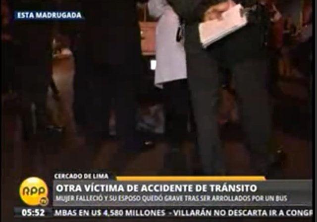 RPP / Esta madrugada: Un muerto y varios heridos por accidentes en Lima
