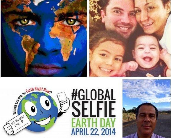 La NASA te invita a tomarte un 'selfie global' en el Día de La Tierra