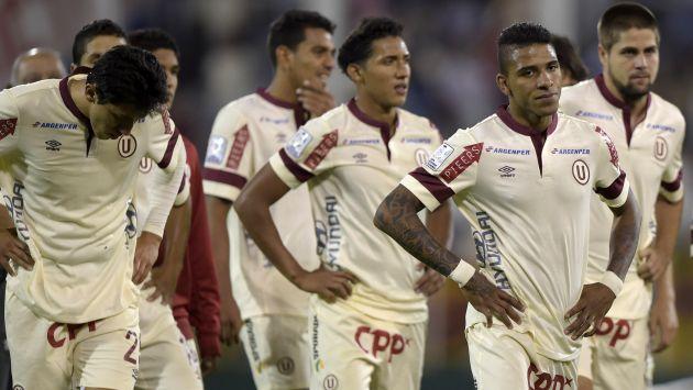 """Una campaña para el olvido protagonizó la """"U"""" en la Copa Libertadores."""