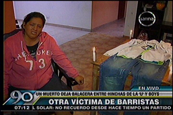 Foto Frecuencia Latina / Un muerto dejó bronca entre barristas de Universitario y Sport Boys