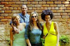 [FOTO] Se reconcilian Jay Z y Solange, hermana de Beyoncé
