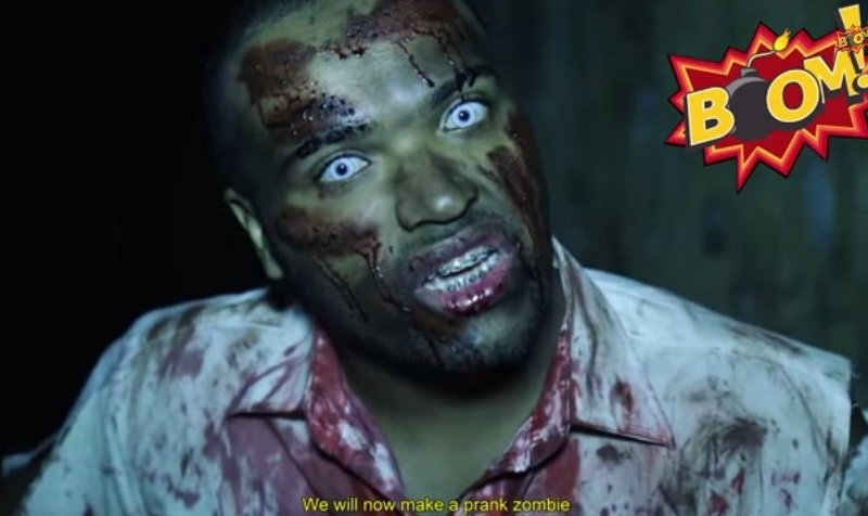 [VIDEO] Mira la pesada broma del ataque zombie en Brasil