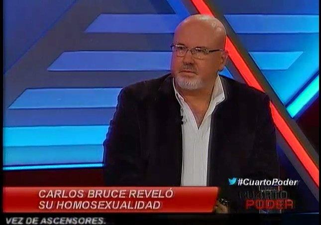 Carlos Bruce niega cálculo político a favor de unión civil al revelar que es gay