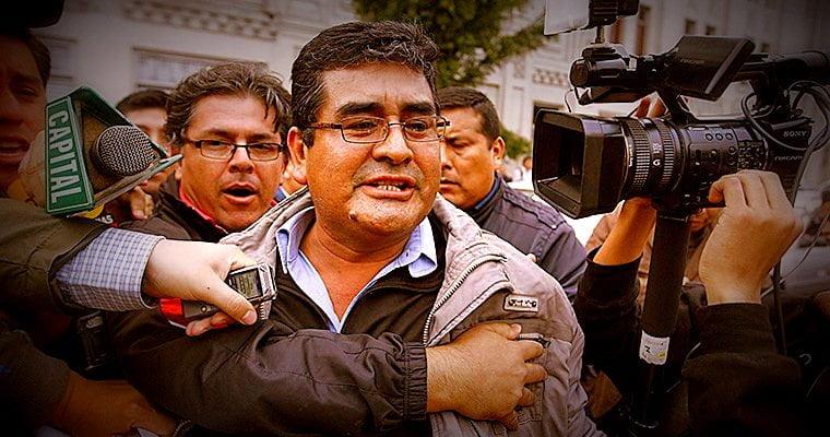 Foto Andina / César Álvarez va preso por 18 meses a penal de máxima seguridad