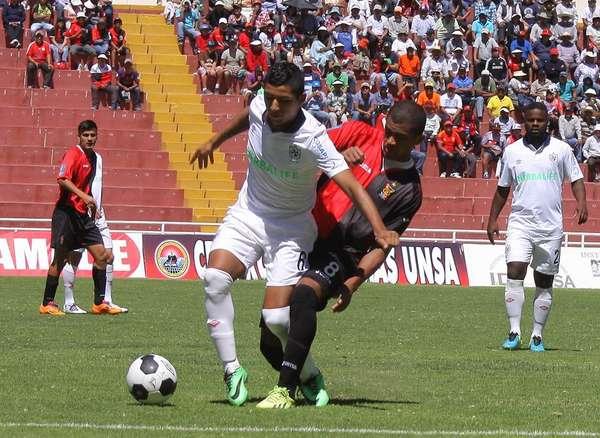 San Martín vs Melgar en la última fecha. Si uno de los dos equipos gana  el partido jugará la final de la Copa Inca.