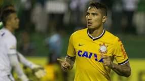 En menos de una semana, Paolo Guerrero celebró su segundo gol con el Corinthians.