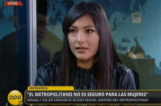 [VIDEO RPP] Metropolitano: Magaly Solier denunció que hombre se masturbó en bus