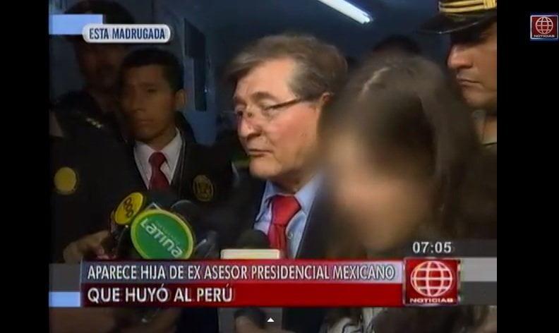 Hija de exasesor presidencial mexicano fue encontrada a salvo en Lima