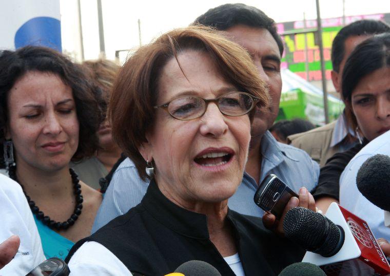 Foto El Peruano / Alcaldesa Susana Villarán cree que el JNE archivará denuncias en su contra