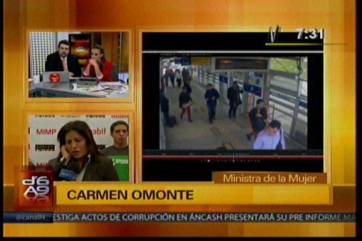 """Omonte: """"Ministerio de la Mujer se pronunció a favor de protocolo para aborto terapeútico"""""""