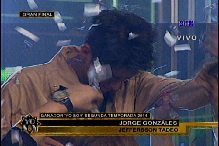 Yo Soy: El ganador es el imitador de Jorge Gonzalez de los Prisioneros