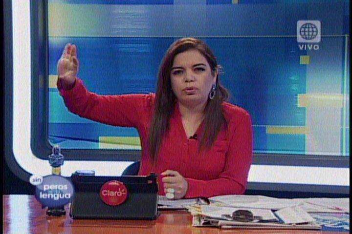 Foto Sin Peros en la Lengua / Orellana amenaza con demandar por US$ 100 millones a Milagros Leiva