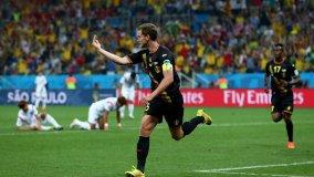 Bélgica hizo respetar su posición de cabeza de serie y ganó su grupo.