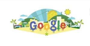 Brasil 2014: Aquí el doodle que le dedica Google al mundial de fútbol