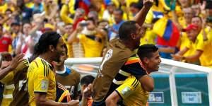 Colombia  a un paso de los octavos de final tras aprobar su segundo examen en Brasil 2014.