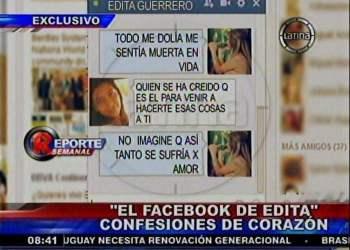 """Los mensajes de Edita Guerrero: """"Todo me dolía, me sentía muerta en vida"""""""