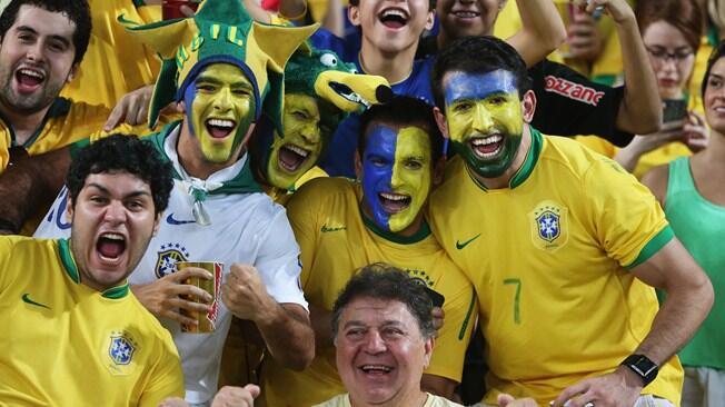 Arranca Brasil 2014, la fiesta del mundial de fútbol llega a sudamérica