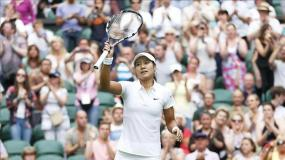 La china Na Li tuvo un debut auspicioso en Wimbledon 2014.