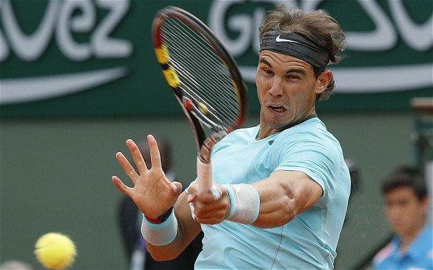 Rafael Nadal avanzó a cuartos de final del Abierto de Paris y enfrentará a David Ferrer.