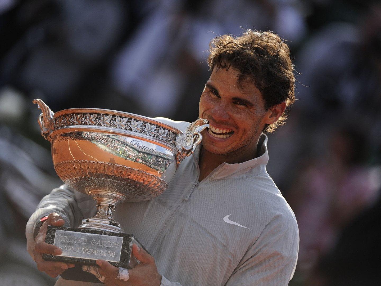 Otro mordisco más de Rafael Nadal en Roland Garros tras conquistar su noveno trofeo.