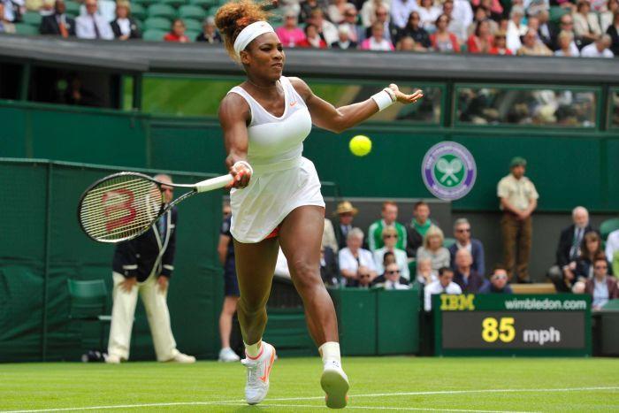 Serena Williams no tuvo rival nuevamente en Wimbledon.