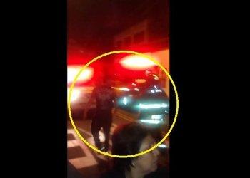 [VIDEO] Yaco Eskenazi tuvo altercado tras accidente