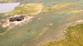 Asombroso: Aseguran que cráter en Siberia llega al centro de la Tierra