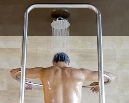 Cuidado: Una ducha caliente por varios minutos puede producir un infarto