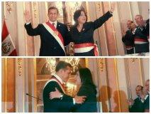 Fotos Facebook cortesía Verónica Suchero / Juramenta Ana Jara como presidenta del Consejo de Ministros