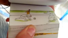 "[VIDEO] Mira goles de James Rodríguez  y otros cracks en un animado ""flipbook"""