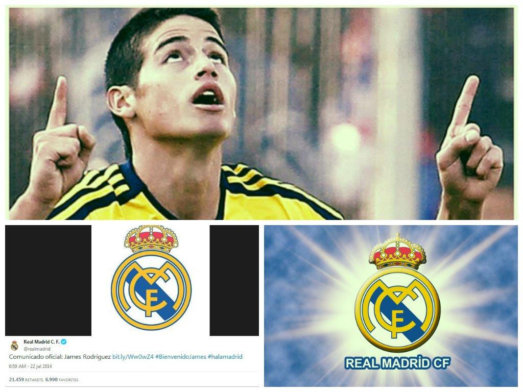 James Rodríguez ya es del Real Madrid, usa la 10 y ganará $ 9 millones por temporada