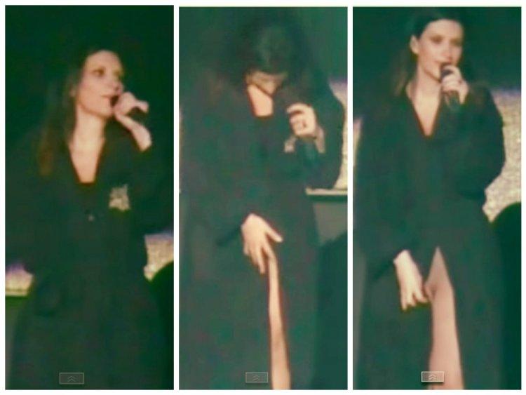 """Laura Pausini tras involuntario semidesnudo: """"Yo la tengo como todas"""""""