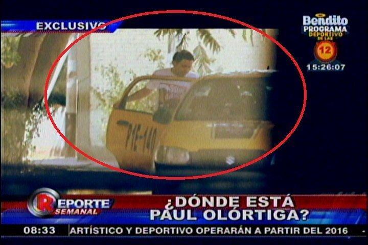 Caso Edita Guerrero: Captan a prófugo Paul Olórtegui ingresando a un taxi