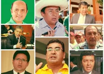 PJ publica lista de ocho presidentes regionales investigados por corrupción