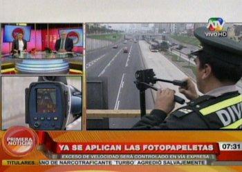 OJO: Policía ya aplicó 25 fotopapeletas e infractores siguen aumentando