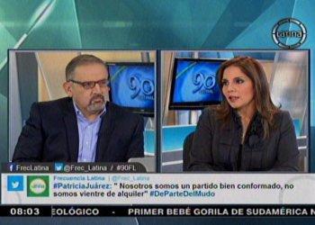 """Patricia Juárez: """"Luis Castañeda pronto va a aparecer"""""""